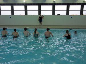 Zwemmen @ Parkeerterrein Busstation Vrouwenhuisstraat