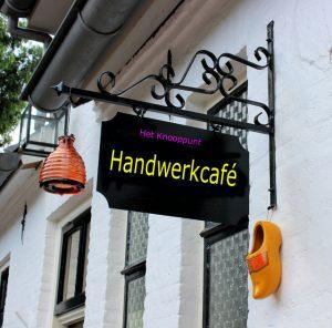 Handwerkcafé @ De Bongerd 7. Er is een lift aanwezig
